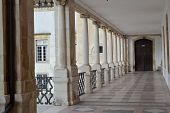 Overview Of Patio Das Escolas, Coimbra University, Portugal