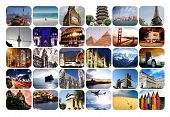 stock photo of sea-scape  - Different scenic destinations all over the world - JPG