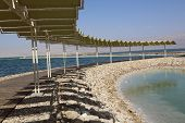 stock photo of peculiar  - The Dead Sea is the only place in the world with this particular combination of exclusive spa benefits - JPG