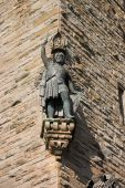 stock photo of william wallace  - Details on the wallace monument in stirling scotland - JPG