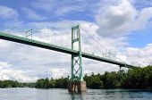 The thousand islands bridge, Canada
