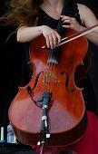 Cellist poster