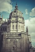 picture of parador  - Toledo Cathedral facade - JPG