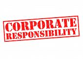 Постер, плакат: Corporate Responsibility