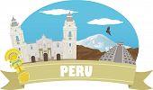 foto of pyramid  - Peru - JPG