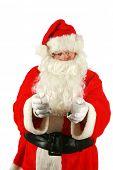 picture of unbelievable  - Santa in Hand Cuffs - JPG