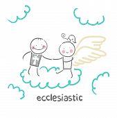 stock photo of ecclesiastical clothing  - ecclesiastic - JPG