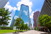 pic of texas  - Houston skyline cityscape in Texas US USA - JPG