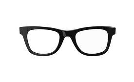 foto of nerds  - Classic black framed nerd or geek glasses - JPG
