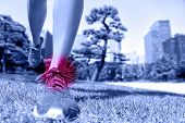 foto of ankle shoes  - Sports injury  - JPG