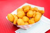 pic of curd  - Golden fried cheese curds - JPG