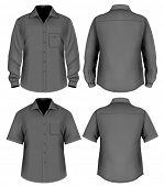 image of button down shirt  - Men - JPG