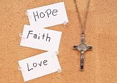 Hope, Faith And Love In God