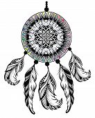 stock photo of dream-catcher  - Dream Catcher - JPG