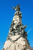 image of battle  - Detail of the Vitoria Battle monument Vitoria Spain - JPG