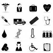 Постер, плакат: Здравоохранения символы