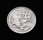 Australian Twenty Cent Coin