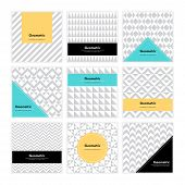 Geometric Texture Set 006 poster