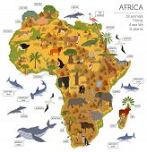 Geography Isometric Africa_1 poster