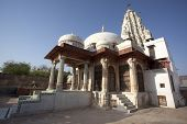 picture of laxmi  - Laxmi Nath Temple in city of Bikaner rajasthan state in India - JPG