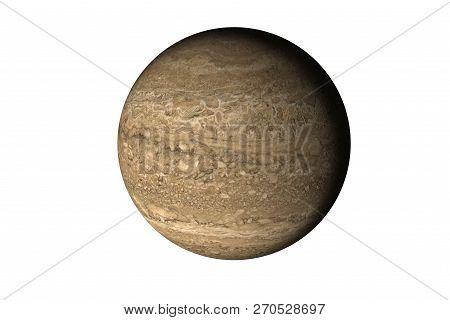 Rock Brown Dead Planet In