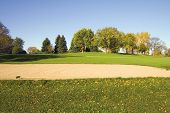 Cool Weather Autumn Golf poster