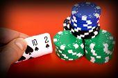foto of deuce  - ten deuce of spades - JPG