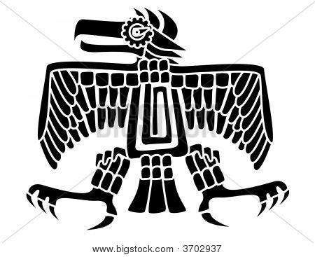 Aztec Bird Symbol