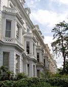 Crowded Homes Of Kensington, London