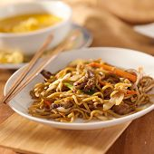 image of lo mein  - Chinese food  - JPG