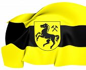 Flag Of Herne, Germany.