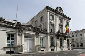 stock photo of elio  - The official residence of the Prime Minister of Belgium Wetstraat Rue de la Loi 16 Brussels - JPG