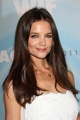 Katie Holmes at the Women In Film's 2011 Crystal + Lucy Awards, Beverly Hilton hotel, Beverly Hills,