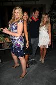 Kirstie Alley, Cheryl Burke, Mike Catherwood and Lacey Schwimmer at Cheryl Burke's Birthday Celebrat