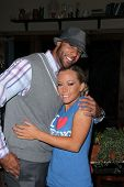 Hank Baskett and Kendra Wilkinson at Cheryl Burke's Birthday Celebration, BoHo, Hollywood, CA. 05-02