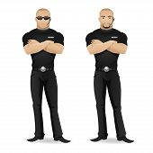image of bodyguard  - Illustration - JPG