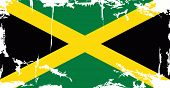 picture of jamaican  - Jamaican grunge flag - JPG