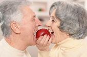stock photo of love bite  - Close - JPG