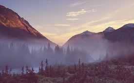 foto of landforms  - Glacier National Park - JPG