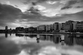 foto of neo-classic  - Photo of Dublin Skyline taken in Dublin - JPG