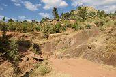 image of ethiopia  - Town of Lalibela Ethiopia - JPG