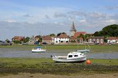 stock photo of west village  - Village of Bosham in Chichester Harbour - JPG