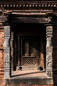 foto of woodcarving  - BHAKTAPUR - JPG