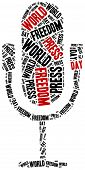 picture of freedom speech  - World press freedom day - JPG