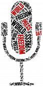 image of freedom speech  - World press freedom day - JPG