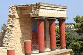 stock photo of minos  - Fragment of Knossos Palace - JPG