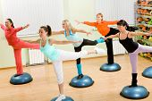 image of step aerobics  - Health Club - JPG