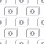 image of buck  - New Buck white and black seamless pattern for web design - JPG