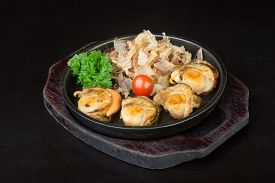 pic of shell-fishes  - japanese cuisine - JPG