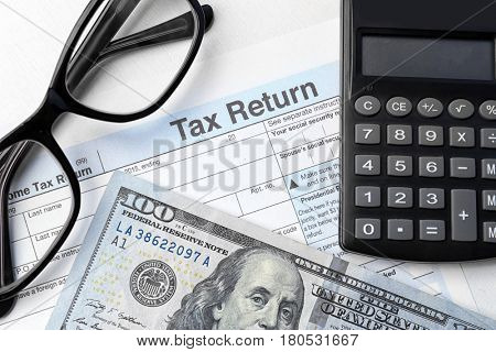 how to calculate tax return